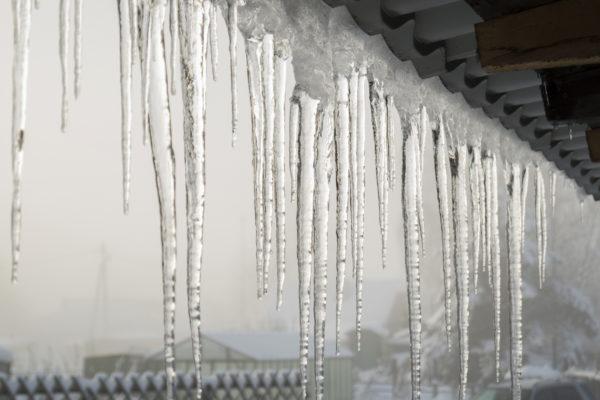 Winter thaw in Siberia.